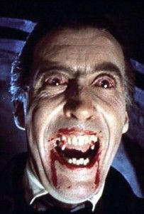 Christopher Lee has played Dracula more than any actor EVER.