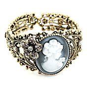 Vintage Señora anaglifos pulsera de apertura ... – USD $ 5.99
