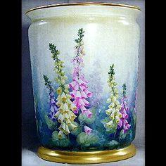 Paula Collins Studies   foxglove planter