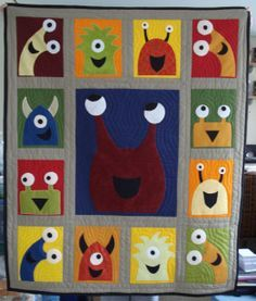 monster quilt - Buscar con Google