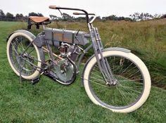 1908 Harley Davidson Motorcycle (Restored)