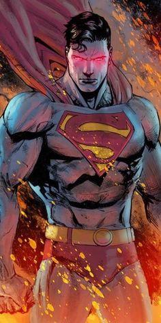 Nerdss Hub: Superman wallpapers for mobile Arte Dc Comics, Marvel Comics, Batman Vs Superman, Superman Man Of Steel, Batman Arkham, Batman Art, Batman Robin, Comic Art, Comic Manga