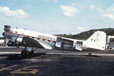 Douglas C-47A-20-DK Skytrain (YV-670C, c/n 13074) of Aerovenca at Curacao Int. Airport in Mar 1992