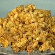 Bobby Deen's Lighter cheesy mac