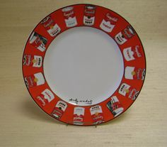 Andy Warhol Campbell Soup Dinner Plate