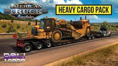 American Truck Simulator - Heavy Cargo Pack Introducing complex multi-joint trailers with jeeps and boosters spreading the weight of the cargo. #ATS #HeavyCargoPack #SCSsoftware #simulator #Steam #YouTube