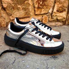 "Puma Basket Platform ""Metallic Silver"" Size Wmns - Price: 109 (Spain Envíos Gratis a Partir de 75) http://ift.tt/1iZuQ2v  #loversneakers#sneakerheads#sneakers#kicks#zapatillas#kicksonfire#kickstagram#sneakerfreaker#nicekicks#thesneakersbox #snkrfrkr#sneakercollector#shoeporn#igsneskercommunity#sneakernews#solecollector#wdywt#womft#sneakeraddict#kotd#smyfh#hypebeast #huaraches #nike #puma #pumacreepers #rihanna"