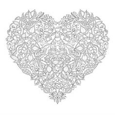 Free Valentines Day Image From Johanna Basford To Celebrate The Release Of Her Book Enchanted Forest