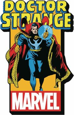 This magnet measures inches high and inches thick with the 'Doctor Strange' logo on the front. Marvel Doctor Strange, Marvel Comics Superheroes, Marvel E Dc, Marvel Universe, Comic Book Characters, Comic Character, Comic Books, Cartoon Tv Shows, Marvel Entertainment