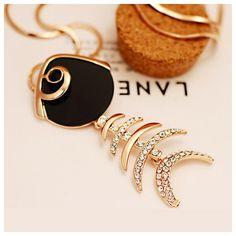 Cute Fishbone Shape Necklace