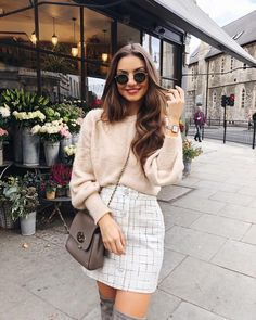 Perfect Spring Outfits to Wear Now Vol. Spring Outfits, Perfect Spring Outfits to Wear Now Vol. Paris Outfits, Winter Fashion Outfits, Girly Outfits, Mode Outfits, Classy Outfits, Stylish Outfits, Spring Outfits, Autumn Fashion, Paris Spring Outfit
