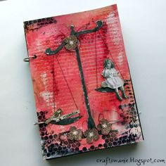fantastic project by Matilde with 3rd Eye stamps <3 http://3rdeyecraft.com/ <3 #stamping #stamp #craft