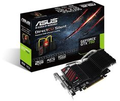 ASUS GeForce GTX 750 DirectCU Silent Variant featuring Passive Cooling