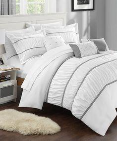 Look what I found on #zulily! White Calliope 10-Piece Comforter Set #zulilyfinds