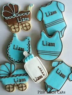 Baby Shower Cookies from Pink LittleCake