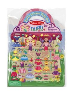 Melissa  Doug Puffy Sticker Activity Book Fairy  75 Reusable Stickers ** Check out this great product.Note:It is affiliate link to Amazon.