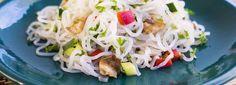 SMART NOODLES s hlívou ústřičnou, restovanou zeleninou a mozzarellou | Svět zdraví