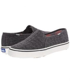 A fresh alternative to leather, the jersey material gives these slip-on sneakers ultimate breathability and comfort, while the quilting detail imparts youthfulness. Available in three colors.