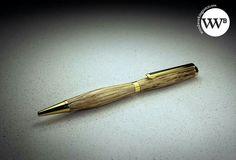 Holm Oak slimline pen