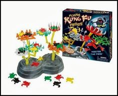 Flying Kung Fu Frogs From Patch Products