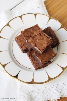Penne im Topf: Brownies! Ein gutes Backup-Rezept schadet nie!