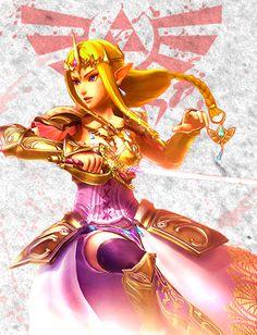Legend of Zelda: Hyrule Warriors - Zelda