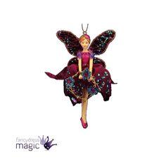 New gisela graham christmas fairy tree ornament for Hallmark fairy door
