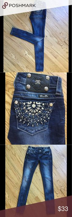 🌸MISS ME SKINNY🌸 Fantastic Miss Me jeans! Great condition! Miss Me Jeans Skinny