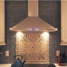 Cavaliere, Cavaliere-Euro SV218B2 Stainless Steel Wall Mount Range Hood with 900 CFM | KitchenSource.com