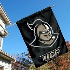 University of Central Florida UCF Knights House Flag by College Flags and Banners Co.. $23.95. University of Central Florida UCF Knights House Flag is 30x40 inches in size, is made of single-ply polyester with double-sided bottom school panel, has a top sleeve for insertion of a wood or aluminum flagpole, and the Licensed NCAA School logos are screen printed into this University of Central Florida UCF Knights House Flag.