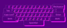 Make art out of an on-screen keyboard. Colors, gradients, box-shadows, opacity, key shape, size, rotate… English or Russian layout  www.ralphcorbett.com   #color #keyboard #art #design #create #css #animation #css #size #transaction #English #Russian #RainbowKeyboard #ColorKeyboard  #Ralph #Corbett #RalphCorbett