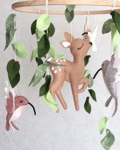 Deer Themed Nursery, Woodland Baby Nursery, Baby Girl Nursery Themes, Nursery Ideas, Animal Theme Nursery, Bambi Nursery, Girl Nurseries, Nursery Room, Boy Room