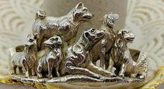Kabana Sterling Silver Dog Cuff Bracelet | eBay Dog Jewelry, Sterling Silver Cuff Bracelet, Bracelet Sizes, Lion Sculpture, Things To Sell, Bracelets, Dogs, Ebay, Pet Dogs