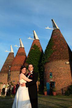 Wedding photography at The Hop Farm