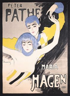 By Walter Schnackenberg (1880-1961), 1918, Peter Pathe & Maria Hagen. (Germany)