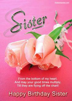 Happy Birthday Sister Cards