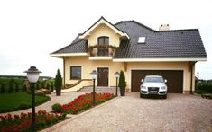 House Layout Plans, House Layouts, House Plans, House Balcony Design, House Design, Style At Home, Moise, Home Design Plans, Design Case