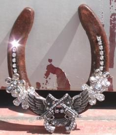 Wing Pistol Horseshoe $35.00