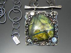 Labradorite Necklace   Wild Prairie Silver