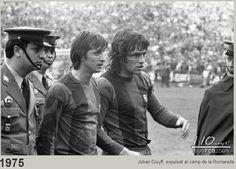 Expulsió de Cruyff a La Rosaleda (Málaga)