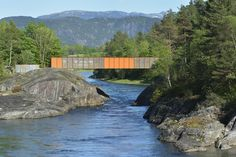 Høsebrua bridge close to Ryfylke National Tourist Route