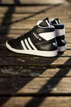 adidas Pro Conference Hi: Black & White