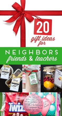 20 Neighbor Gift Ide