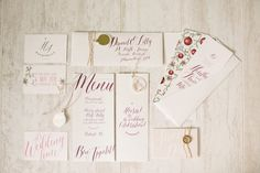 again- I love the deep wine color in contrast to the white background. Pomegranate farm wedding inspiration   Photo by Tyme Photography   Read more - http://www.100layercake.com/blog/?p=77288