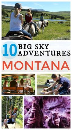 Plan your next family vacation to Montana! Check out these amazing 10 Big Sky…