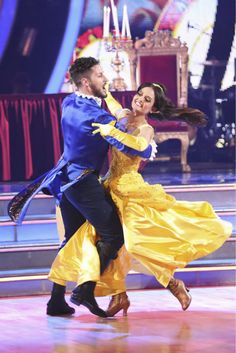 Danica & Valy danced a 'Beauty and the Beast'-themed Quick Step  | Dancing with the Stars: Disney Night