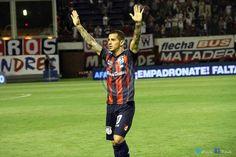Leandro << Pipi >> Romagnoli, un ídolo en San Lorenzo de Almagro, jugador e hincha que lo ha dejado todo.
