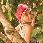woody playful colorful eco bamboo beanie