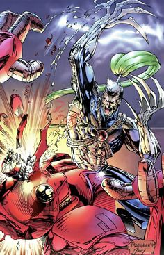 Warblade by Ryan Benjamin Comic Book Artists, Comic Book Characters, Comic Artist, Comic Character, Comic Books Art, Jim Lee, Dc Comics Art, Image Comics, Marvel Fan Art