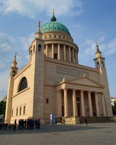 St. Nikolaikirche, designed by Karl Friedrich Schinkel, Potsdam, Germany